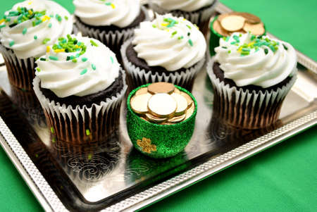 Luck of the Irish Cupcake photo