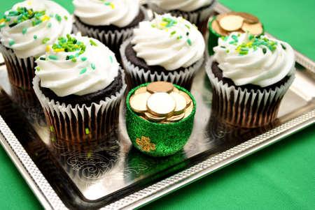 st  patty's: Luck of the Irish Cupcake