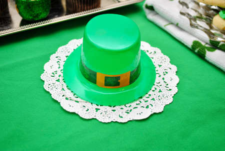 saint patty's:  Irish Hat Decoration