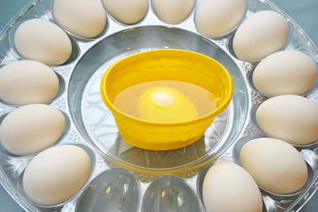 Dyeing Yellow Easter Eggs