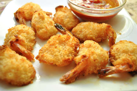 Breaded Shrimp Appetizers photo