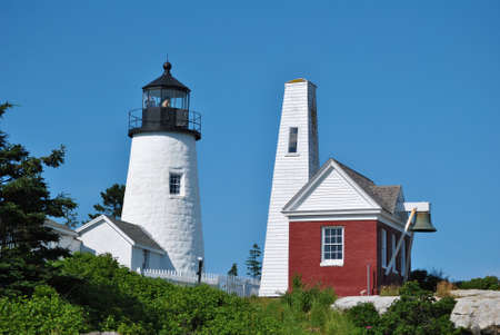 Pemiquid Lighthouse,  Maine, USA