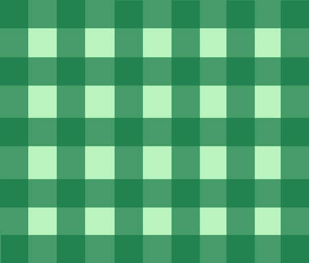 square shape: Background- Green Checkered