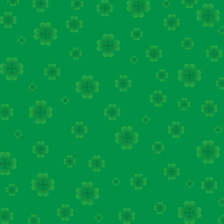 Background-Multi Sized Shamrocks photo
