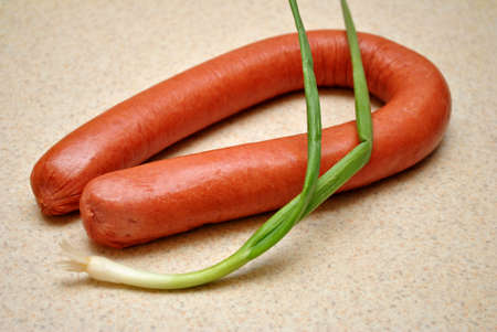 scallion:  Kielbasa with a Scallion