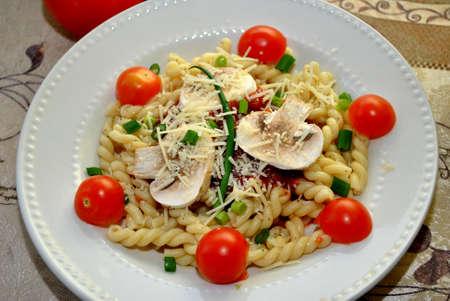 Appétissant Gemelii Pasta Banque d'images - 25628167