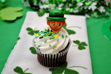 st  patty's: Fancy Irish Cupcake