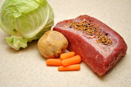 st  patty's: Fresh Ingredients for Corned Beef