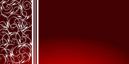 Illustration background of maroon with white stripes and swirls