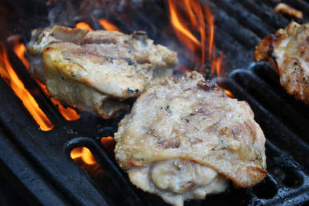 Grilling Chicken Thighs