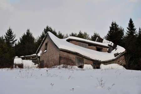 stormed: Collapsed Snow House