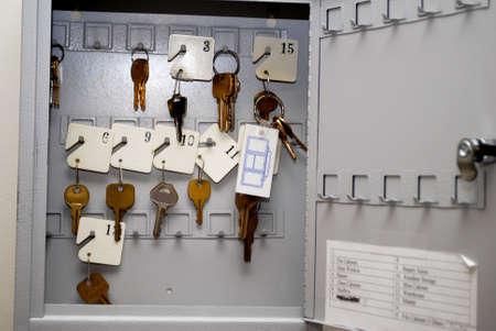 key box: Key Box Stock Photo