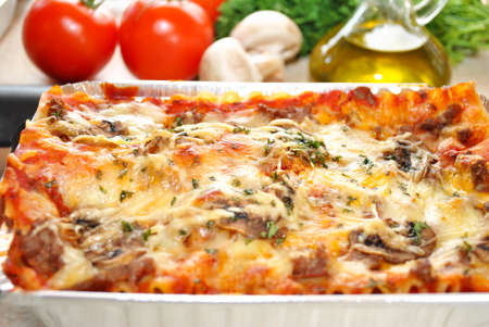 Perfect Italian Lasagna with Fresh Ingredients photo