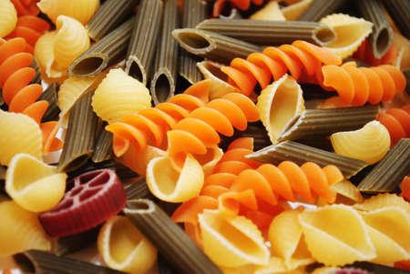 Gourmet Pasta Formes à base de légumes bio Banque d'images - 30482311