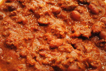 redneck: Background of Hot and Spicy Chili Stock Photo