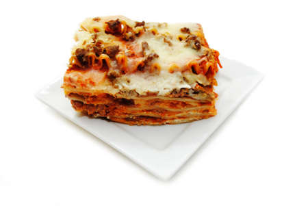 cheesy: A Delicious Meal of Meaty, Cheesy Lasagna