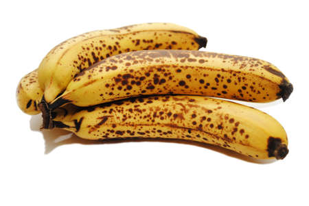 bad banana: Browned Bananas Used in Baking Muffins or Bread