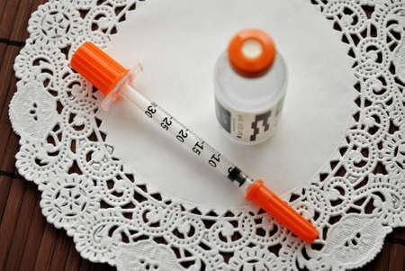 Fancy Insuline Shots Stock fotó
