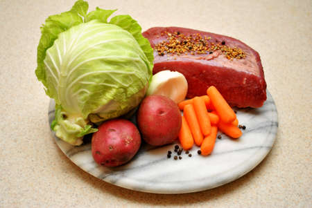 Vegetables and Meat photo