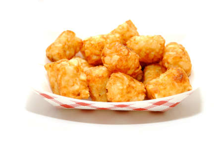 tots: A Fast Food Container of Crispy Tator Tots