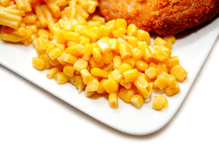 side dish: Yellow Corn Served as a Side Dish
