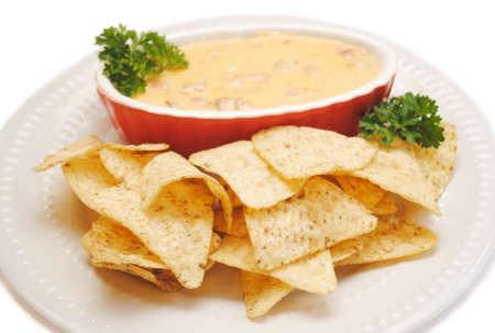 tortilla de maiz: Chips de tortilla de maíz con nachos
