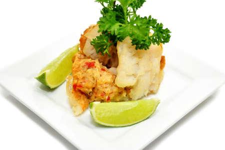 stuffed fish: Stuffed White Fish Appetizer
