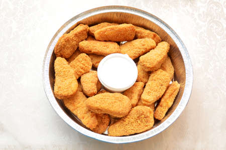tenders: Chicken Nuggets with Ranch Dipping Sauce