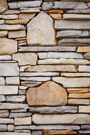 Decorative Rock Wall