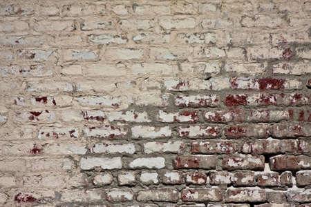 Aged Brick Wall Banque d'images