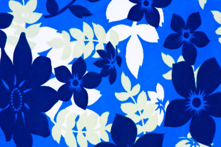 Blue and white floral background design Stock Photo - 8262842