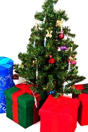 Christmas presents under the Christmas Tree photo