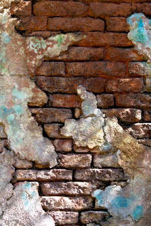 Colorful grunge brick wall textured background Stock Photo - 8785096