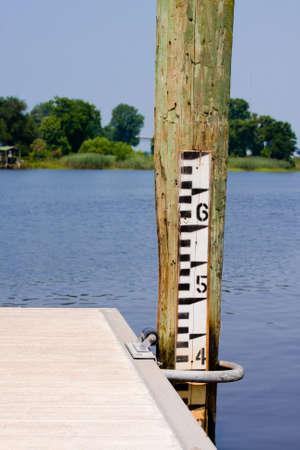Depth Gauge to measure how high or low water is