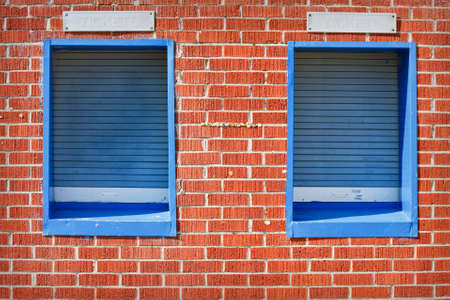 Closed ticket windows at a sports arena Stock Photo - 10278936