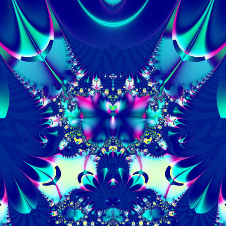 Computer generated abstract Fractal art for background Stock Photo - 18319363
