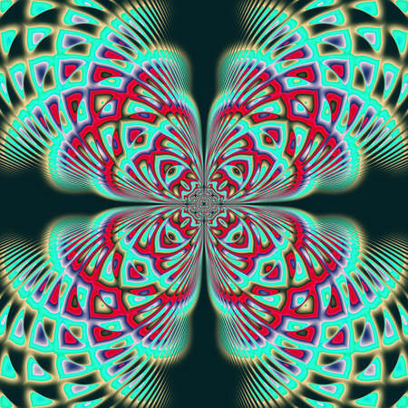Abstract Fractal art for background