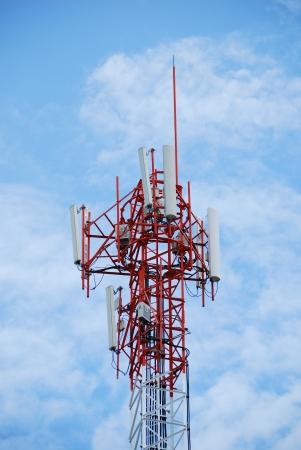 tele communication tower photo