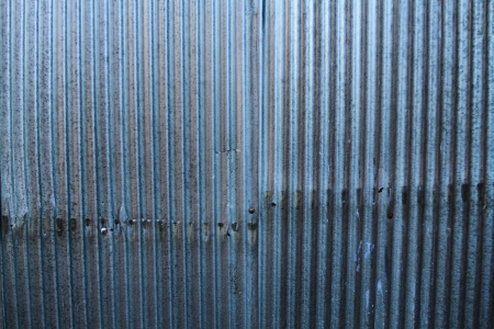 ZINC GALVANIZED WALL PATTERN  photo