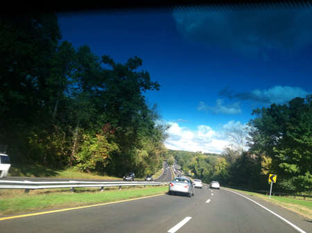 Long Drive on peaceful Highway