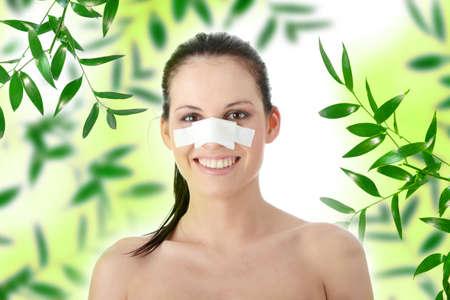 gean: Nose surgery concept