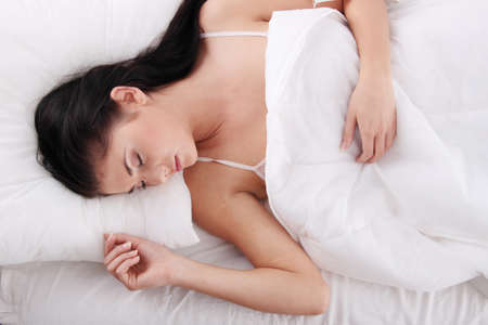 Beautiful young woman sleeping Stock Photo - 8719931