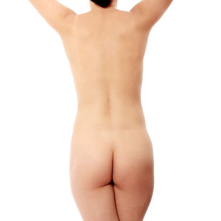 Female body isoalted on white Stock Photo - 9013260