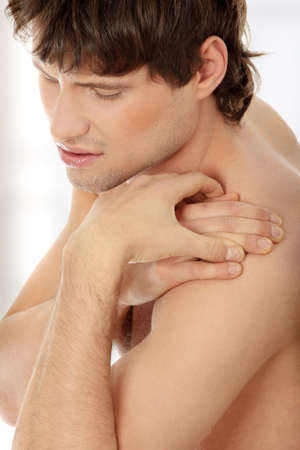 Back pain concept.  Stock Photo - 9022765