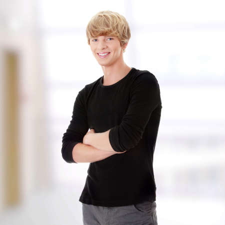 Young casual man portrait Stock Photo - 9013381