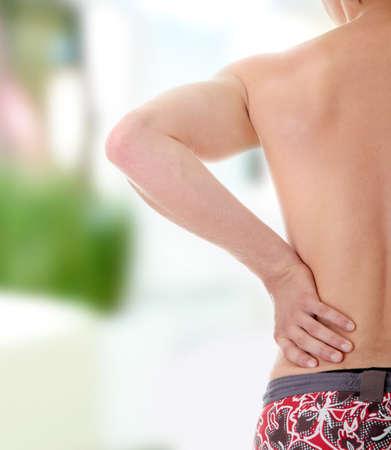 Back pain concept.  photo