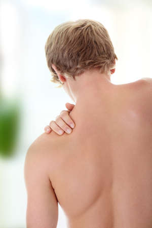Back pain concept.  photo