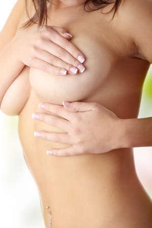 Concepto de cáncer de mama Foto de archivo - 9028680