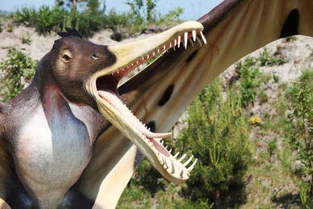 devonian: Dinosaur - Cearadaktyl (Ptrodactyloidea, Pterosauria - Cearadactylus )