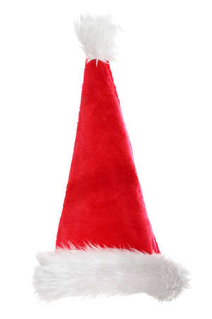 santa clause hat: Santa clause hat , isolated on white